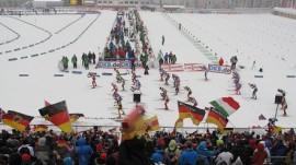 Biathlon Antholz 2012; Danke an Frau B. für das Foto