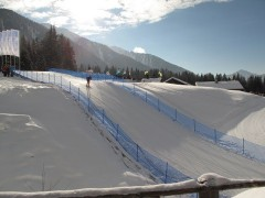 Biathlon Strecke Antholz