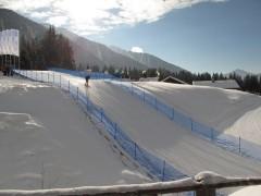 Biathlon Strecke Antholz