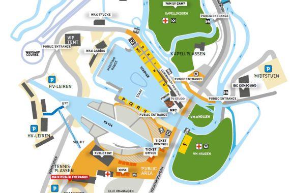 Biathlon Oslo 2016, Plan