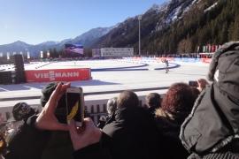 Biathlon Antholz Sitzplatz