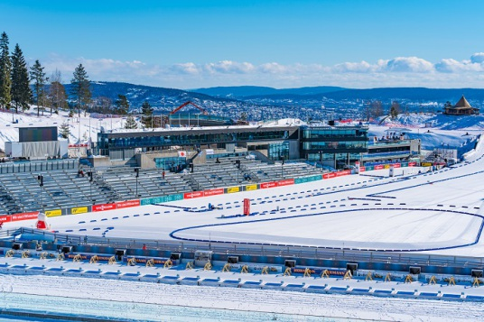 Biathlonstadion Oslo Kundenfoto