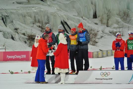 Biathlon Olympiade 2018