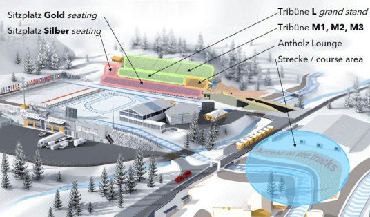 Antholz 2020 Stadionplan