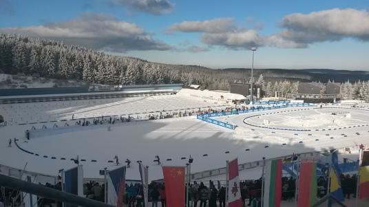 Oberhof Biathlonarena