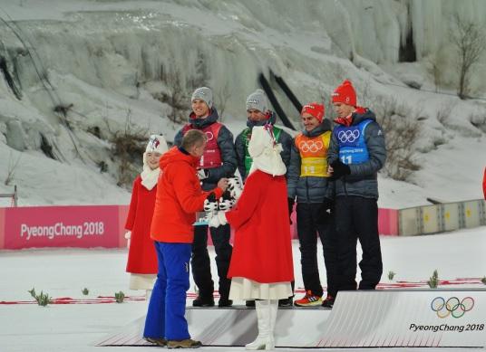 Olympiade Siegerehrung 2018, Kundenfoto