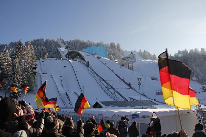 Neujahrsspringen Garmisch Tickets